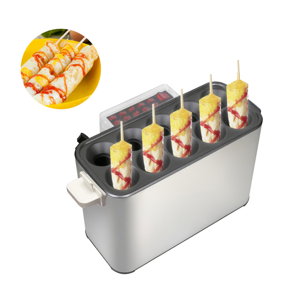 Automatic Gas Sausage Machine Hot Dog Maker Machine Egg Snack Breakfast Commercial Egg Roll Egg Intestine Food ProcessorsAutomatic Gas Sausage Machine Hot Dog Maker Machine Egg Snack Breakfast Commercial Egg Roll Egg Intestine Food Processors