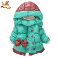 Monkids Winter Girl Coat Jacket Down Jacket Girls Kid's Clothes Warm Cashmere Parkas Kids Coat Jacket Children Clothing Down