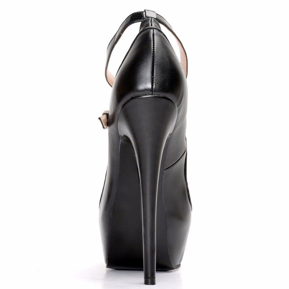 Femme Talons Hauts L'intention Rond De Ef0164 Mode Bout Taille Matures Initiale Élégant 4 Mince Chaussures Nouvelles 15 Américaine La Femmes Noires Pompes Plus zSZFzvx
