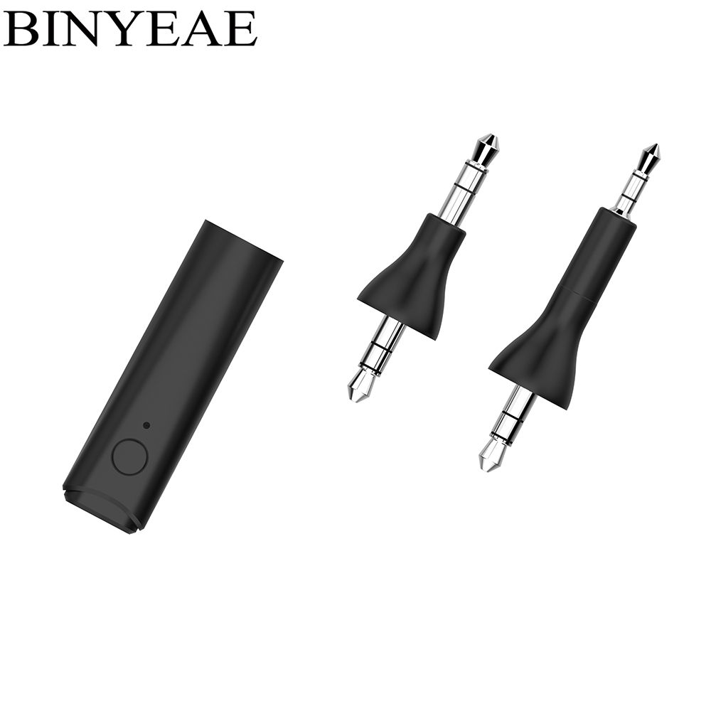 Binyeae Bluetooth 4.1 stereo Audio Adapter A2dp Music receiver for Bose QuietComfort 25 35 Headphone QC25 QC35 handsfree Car Kit
