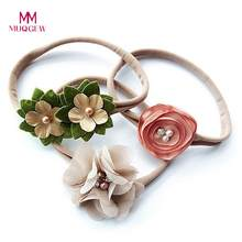 MUQGEW High Quality 3Pcs/set Kids Girl Baby Toddler Flower Headband Hair Band Headwear Baby Head Bands Baby Hair Accessories(China)