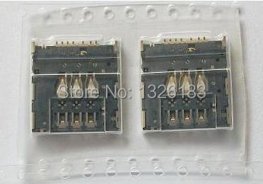 US $6 18 |2pcs/lot, original new Sim Card Reader holder socket Connector  slot for Motorola MOTO G XT1032 XT1033 XT1035  HK free ship-in Mobile Phone