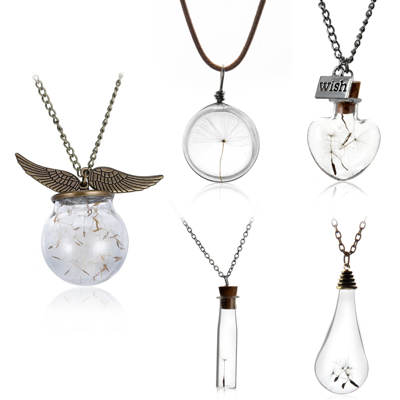 Creative and stunning Vial Necklaces