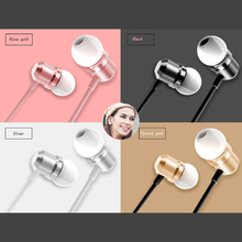 qijiagu 100PCS Microphone Earphones 3.5mm Universal Wired Earphone In Ear Super Bass Earpiece with