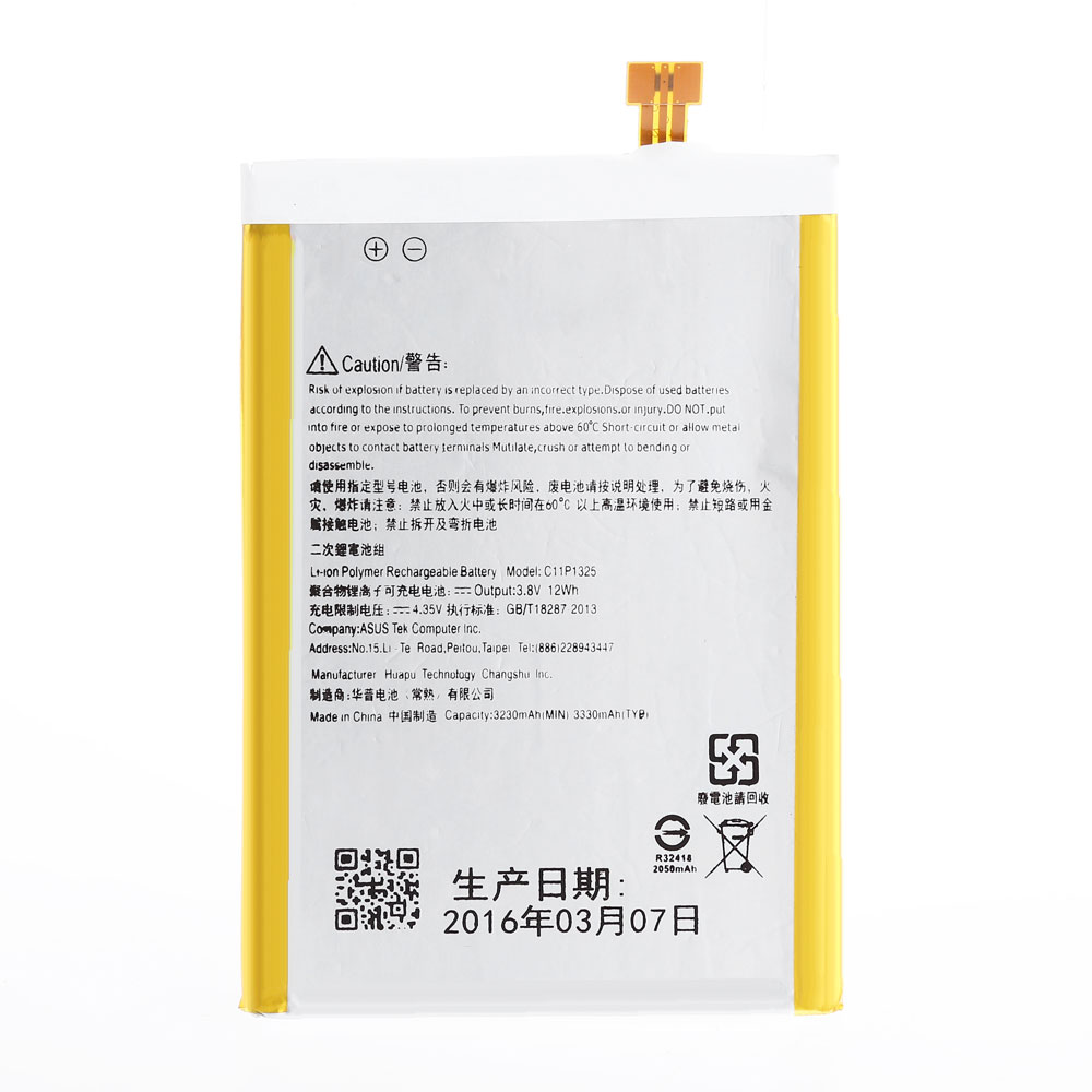 Asus zenfone 6 does not bend like apple iphone 6 plus - Aliexpress Com Buy 3 8v 12wh 3330mah C11p1325 Li Ion Polymer Replacement Battery For Asus Zenfone 6 Mobile Phone Battery From Reliable Batteries Panasonic