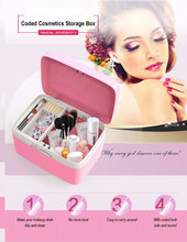 Cosmetics Storage Box Makeup Tools Container Personal Organizer