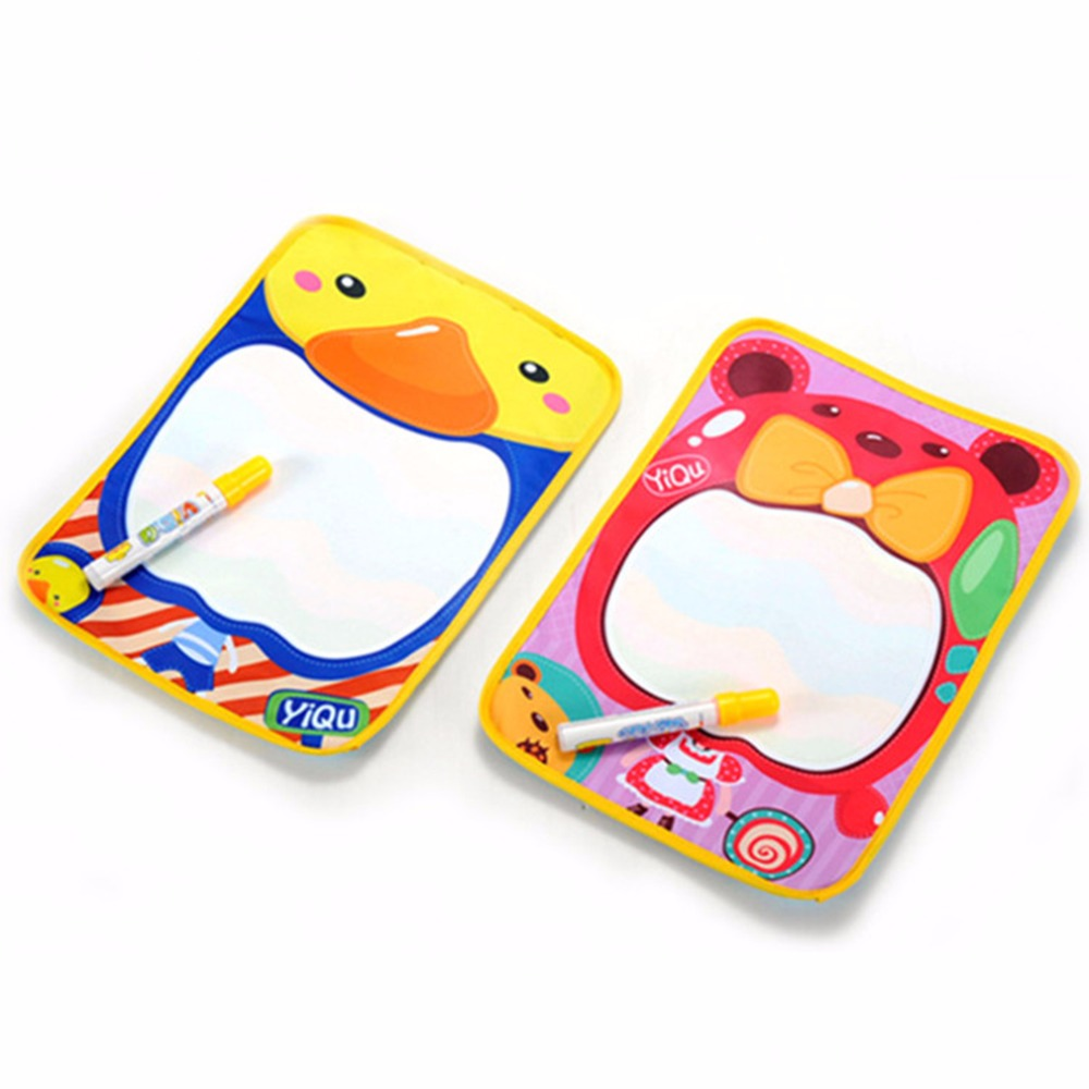 Hot! Kids Toy Water Scrawl Mat Writing Drawing Painting Scribbling Plate Board New Sale ...