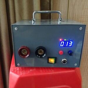 Image 4 - NY D02 100a/40a duplo pulso encoder máquina de solda a ponto tempo controlador atual painel controle placa ajustável display digital