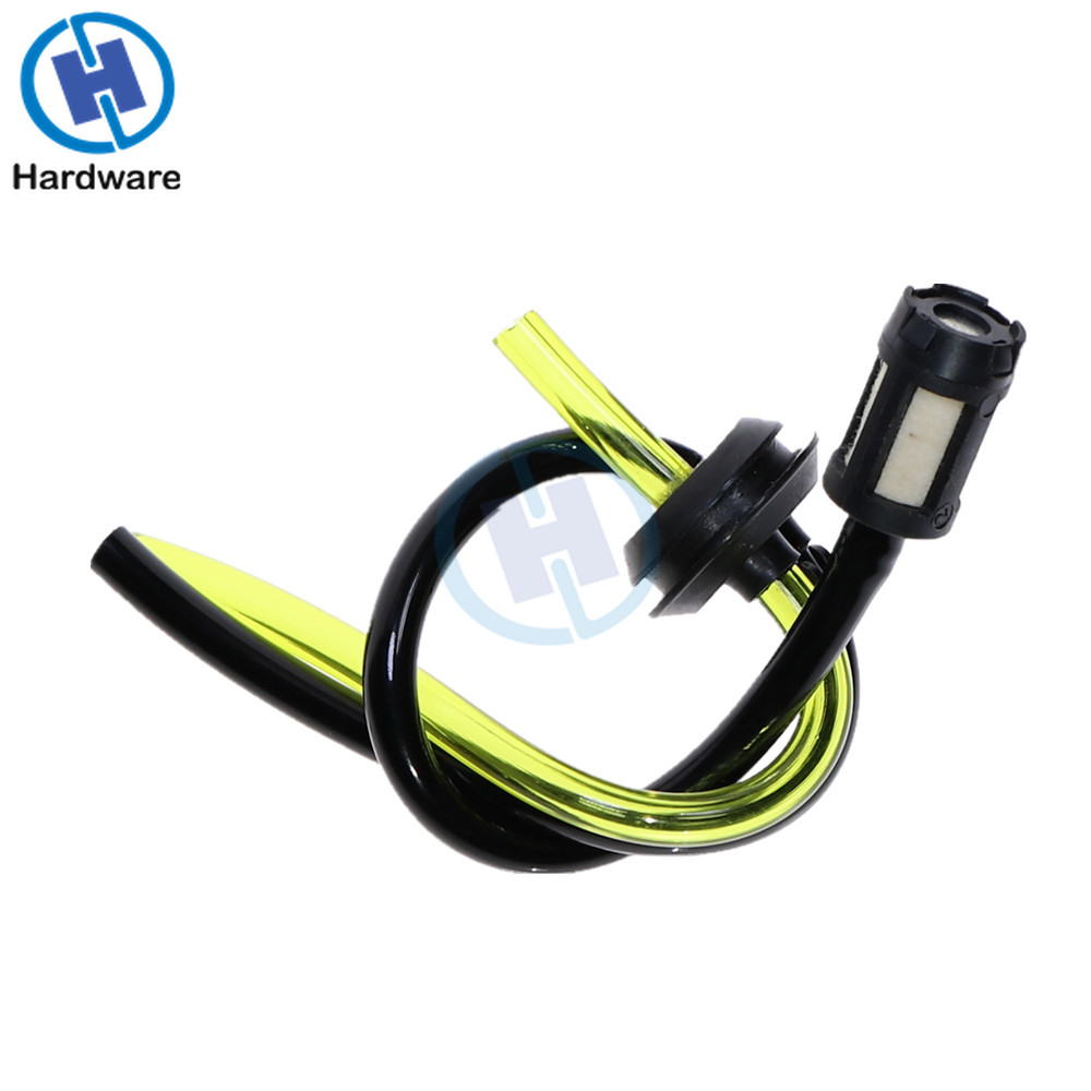 1pcs Replacement Fuel Hose Pipe + Tank Filter Spare Parts For Strimmer Trimmer Brush Cutter Engine Garden Tools