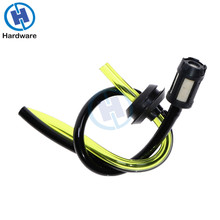 цены 1pcs Replacement Fuel Hose Pipe + Tank Filter Spare parts for Strimmer Trimmer Brush Cutter Engine Garden Tools
