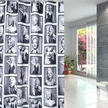 Beauty Eco-friendly PEVA Moldproof Waterproof Bathroom Bath Shower Curtain Bathroom Products Bathroom Curtains with 12pcs Hooks