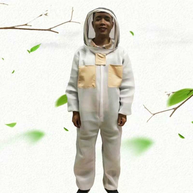Outils d'apiculture anti-abeille vêtements exportation qualité coton extra épais anti-abeille vêtements une pièce espace costume abeille vêtements