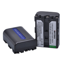 2Pcs 1800mAh NP-FM50 NP FM50 NPFM50 NP-FM30 Battery for Sony Alpha A100 DSLR-A100 A100K CCD-TRV408 DCR-PC105