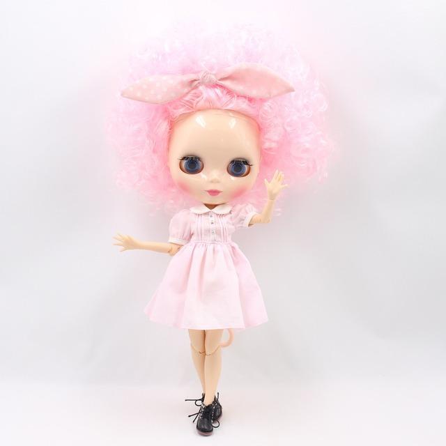 TBL Sister Blythe Dolls ҷингила мӯи 13 опсия