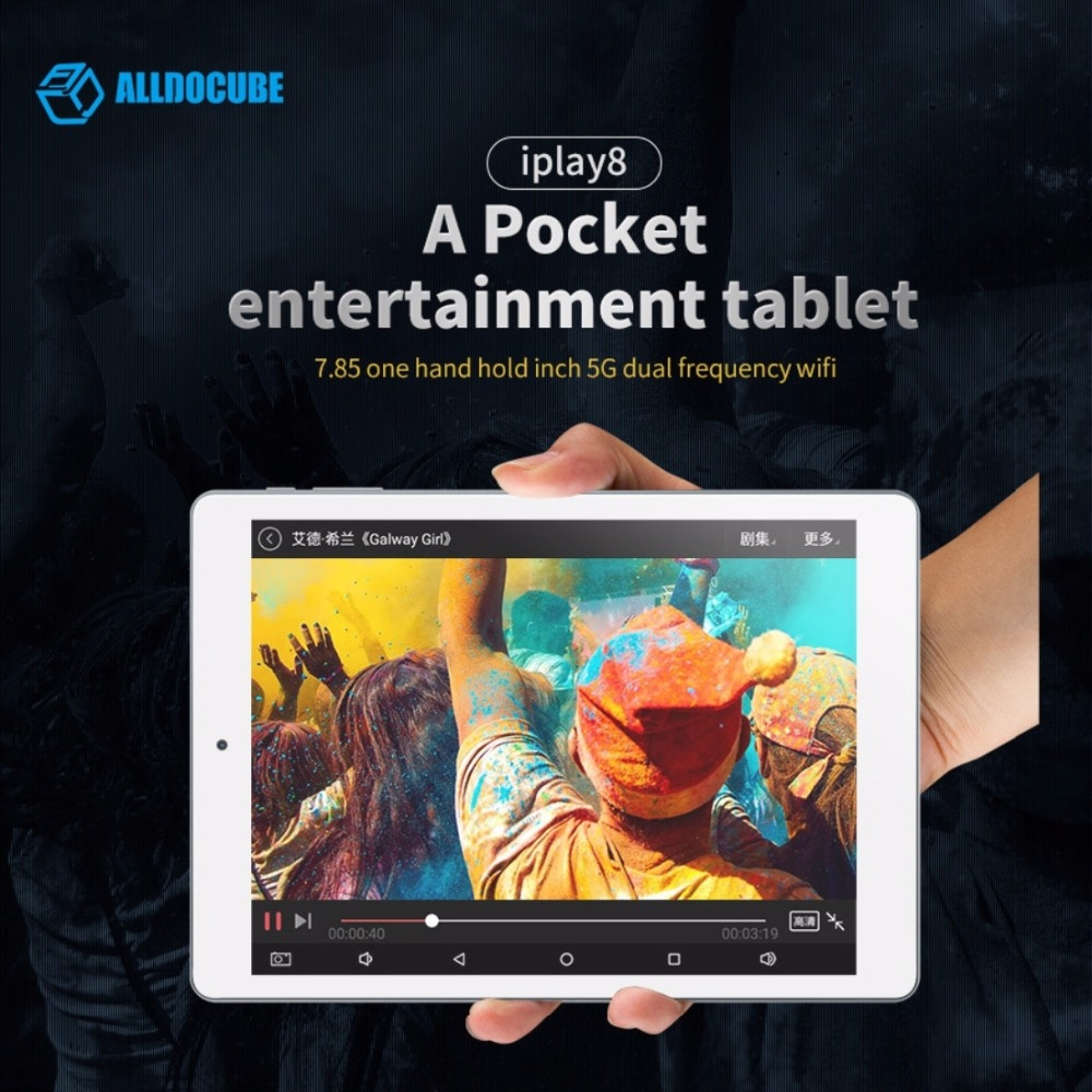 85 Zoll Us 71 87 10 Off Alldocube Cube Iplay 8 U78 Tablet Pc 7 85 Zoll 1 Gb 16 Gb Android 6 Mt8163 Quad Core Otg Gps Fm Dual Band Wifi Tabletten In