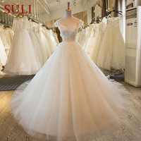 SL 59 Lace Vestido De Noiva Bride Dresses Boho Wedding Dress Turkey 2017