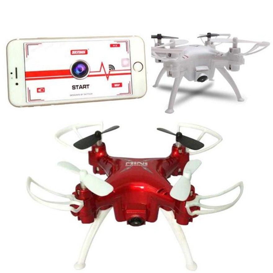 Alta quqlity skytech tk106hw wifi mini rc quadcopter con cámara hd 2.4g teléfono