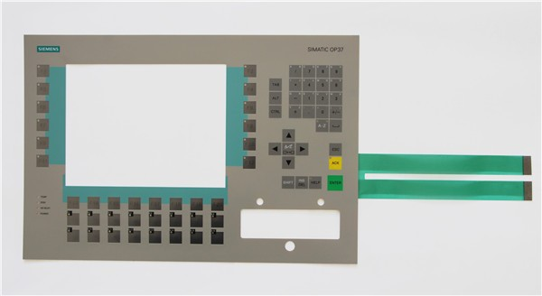 Keyboard for 6AV3637-1LL00-0AX1 SlMATIC OP37,Membrane switch , simatic HMI keypad , IN STOCK membrane switch for 6av3637 1ll00 0fx0 slmatic op37 membrane switch simatic hmi keypad in stock