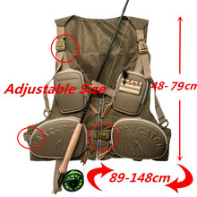 Maximumcatch High Quality Fly Fishing Vest Adjustable Size Fly Fishing Jacket