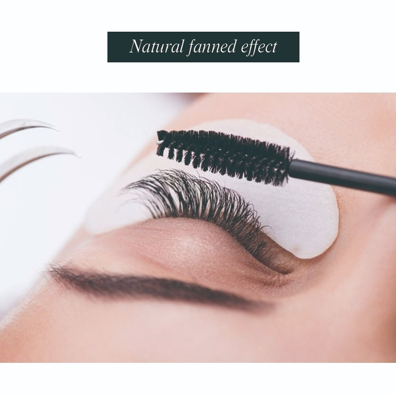 Klacuva 0 15 high quality volume lashes top false mink individual eyelashes silk soft lashes extension for professional lashes in False Eyelashes from Beauty Health