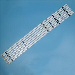 Image 5 - 832mm 14 Piece/Set LED Array Bars For Samsung UE40F6100AW UE40F6100AK 40 inches TV Backlight LED Strip Light Matrix Lamps Bands
