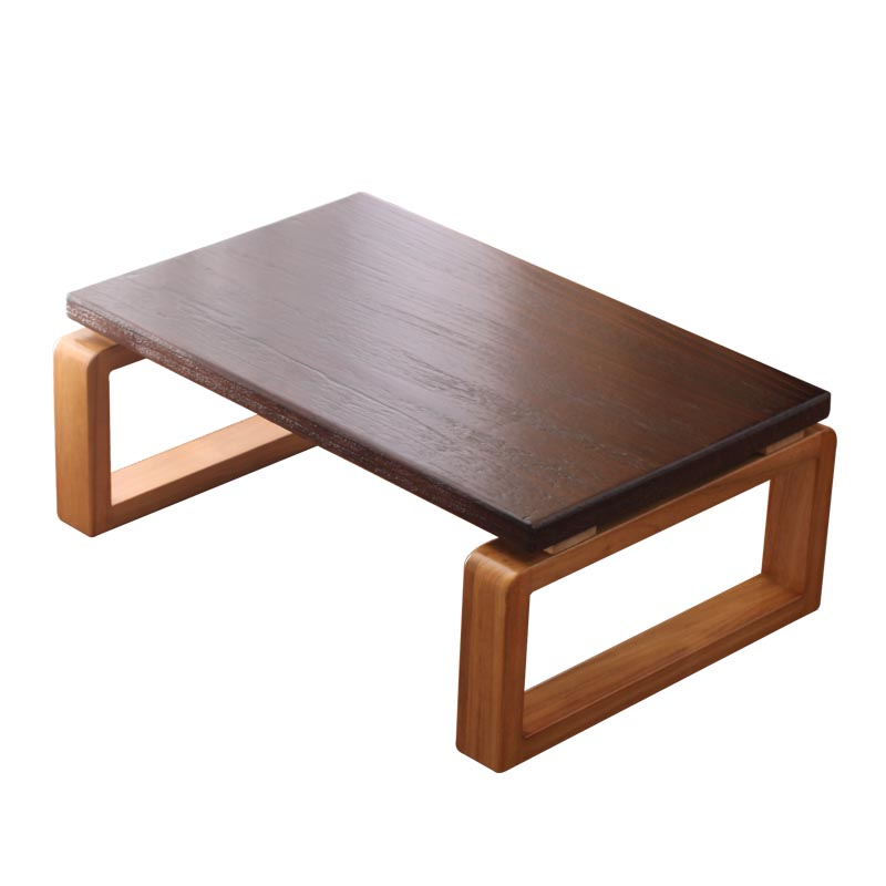 H Wooden Bay Window Tea Table Coffee Table Japanese-style Balcony Solid Wood Table Living Room Small Coffee Low Table Bedroom