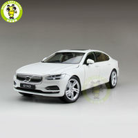 1/18 Volvo S90 T5 Diecast Model Car Toys kids boy girl gifts White Color