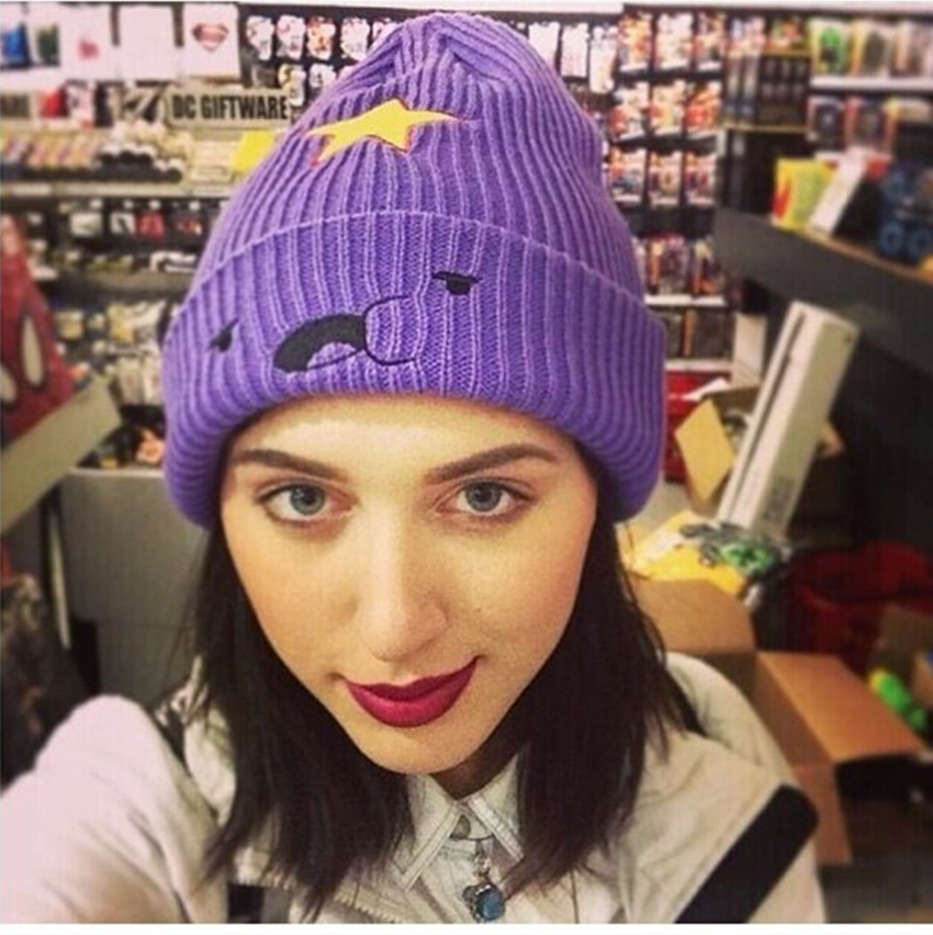 New Modno 2016 Lumpy Space Princess Hat Fashion Five-pointed Star Decoration Women Winter Hats Beanies Lovely Girl Caps Gorros футболка modno ru футболка