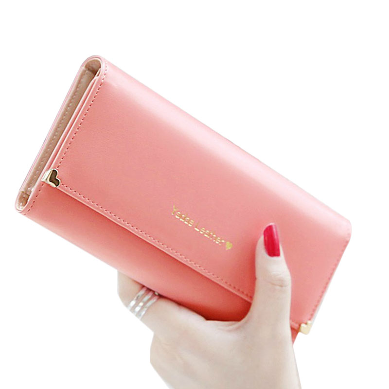 Hot Sale! Candy Color Fashion Leather Women Clutch Wallets, Lady's Multi Function Large Wallet, Female Phone Holding Purse 2015 hot sale free shipping 8 colors wallet women wallets new fashion solid female wallet women clutch women coin purse qb 030