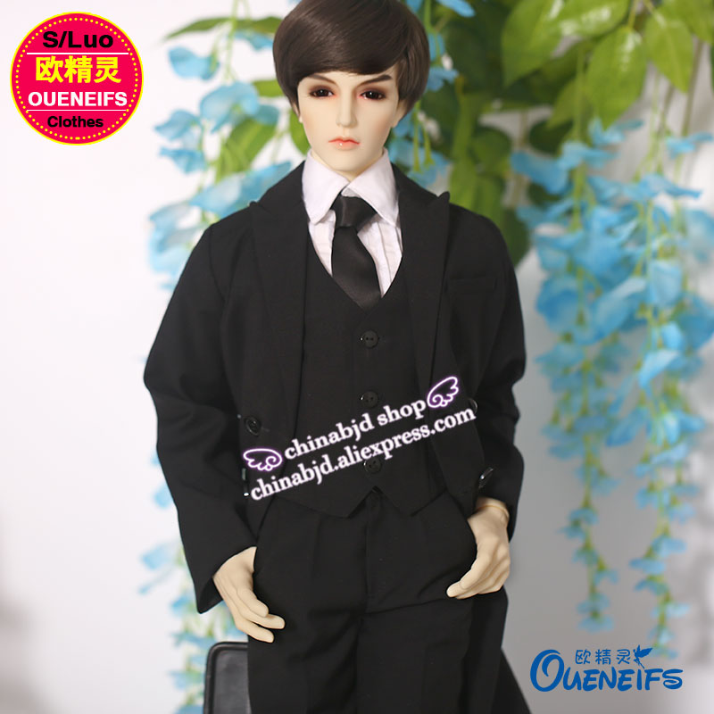 OUENEIFS free shipping man blouse coat waistcoat tie neckt iplehouse dc switch fairyland soom ,1/3 bjd sd doll clothes 1 4 1 3 bjd doll clothes soom british style retro uniforms series seven