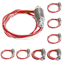 1pcs All Metal E 3D J Head Hot End Extruder For 1 75mm 3mm Filament Supplies