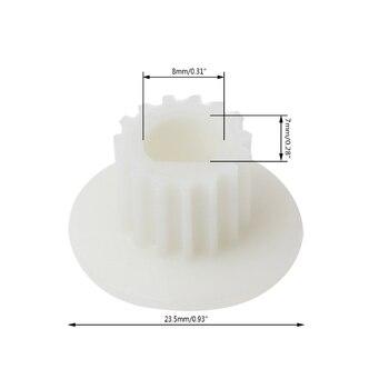 Bread Machine Small 15T Belt Gear Motor Shaft Kitchen Appliance Tool For Donlim Mar28