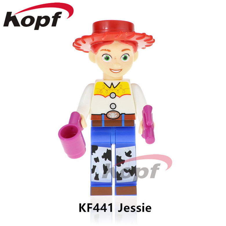 Model Building Blocks Single Toy Story Jessie Children Happy Source Woodys Roundup Virtual Series The Flash Figure Building Block Toys For Children