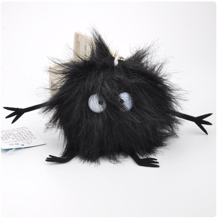 Studio Ghibli Mini Hayao Miyazaki My Neighbor Totoro Fairydust Soft Stuffed Long Plush Spirited Away Keychain Bag Pendant Doll