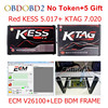 KESS V5 017 V2 23 KTAG V7 020 V2 23 LED BDM FRAME No Tokens Limit
