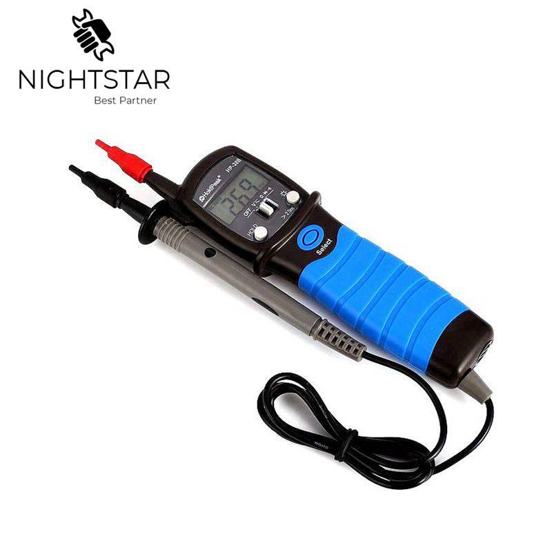 HP-38B Multímetro Digital Pen Tipo de Medidor DC AC Tensão Continuity Tester Ferramenta Tipo Medidor de Resistência de esr medidor de Diodo