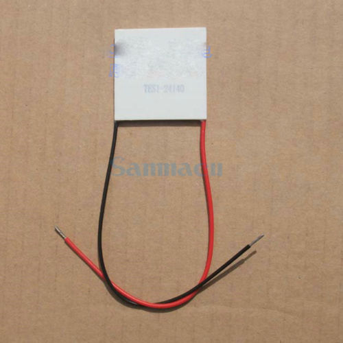 40x40x3.2mm 4A 28.8V 63.4W TES1-24140 Thermoelectric Cooler Peltier Heatsink40x40x3.2mm 4A 28.8V 63.4W TES1-24140 Thermoelectric Cooler Peltier Heatsink