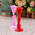 O envio gratuito de 2016 Criativo rose scented Vela de Aniversário decoração de casamento velas sem fumaça pequeno presente do Dia Dos Namorados