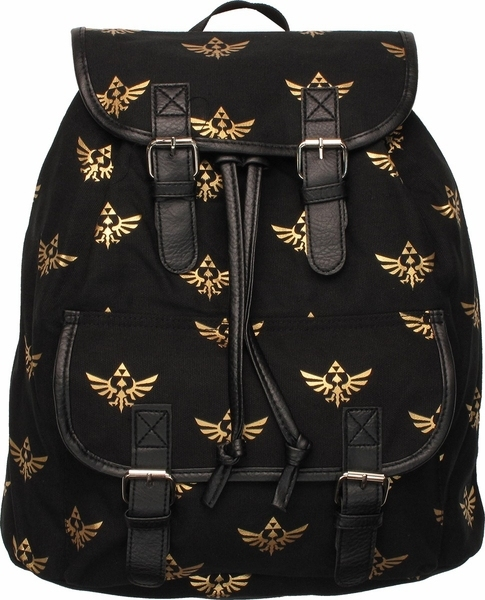 Nintendo The Legend Of Zelda Rucksack Backpack Work Bag Double Shoulder School Travel