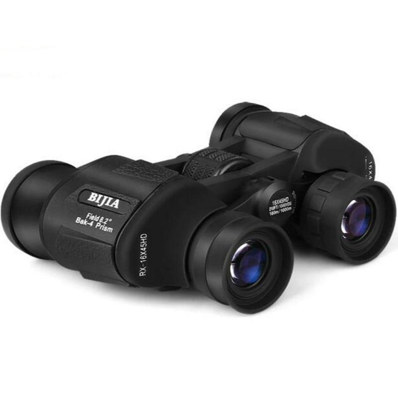 Bijia 16x45 High Power HD Binoculars Waterproof Non Infrared Night Vision Telescope Binocolos Telescopio Spotting Scopes Hunting  цены