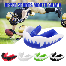 Adults Boxing Mouth Guard Teeth Protector Basketball Mouthguard Oral Gum Shield Sports Training Fitness Safety Tools With Box
