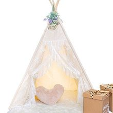 Dalos Dream Dalosdream Lace Play Tent Foldable Toys Tent  sc 1 st  AliExpress.com & Buy lace teepee tent and get free shipping on AliExpress.com