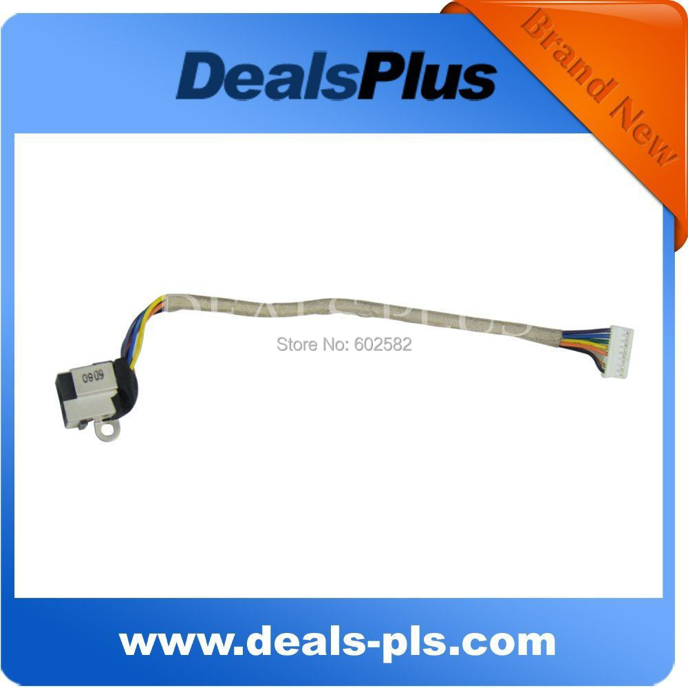 For <font><b>DELL</b></font> <font><b>STUDIO</b></font> <font><b>1535</b></font> 1536 1537 POWER DC JACK CABLE HARNESS image