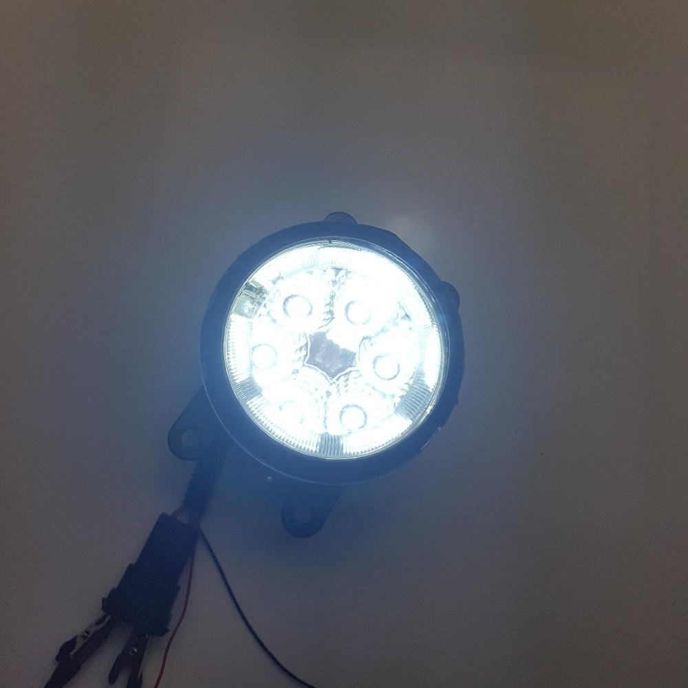 2шт передний бампер светодиодные Противотуманные фары светодиодные дневные ходовые замена Комплект для Infiniti JX35 QX60