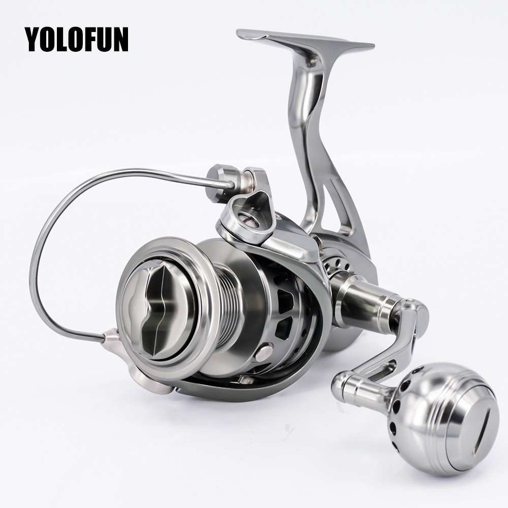 Full Metal Sport Professional Fishing Spinning Reel Stainless Gear CNC Technology Carbon Textile Brake No Single