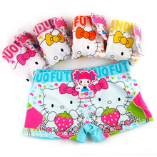 3pcs/lot Children's underwear kids girl underwear briefs kity panties for girls baby girl clothes girl panties