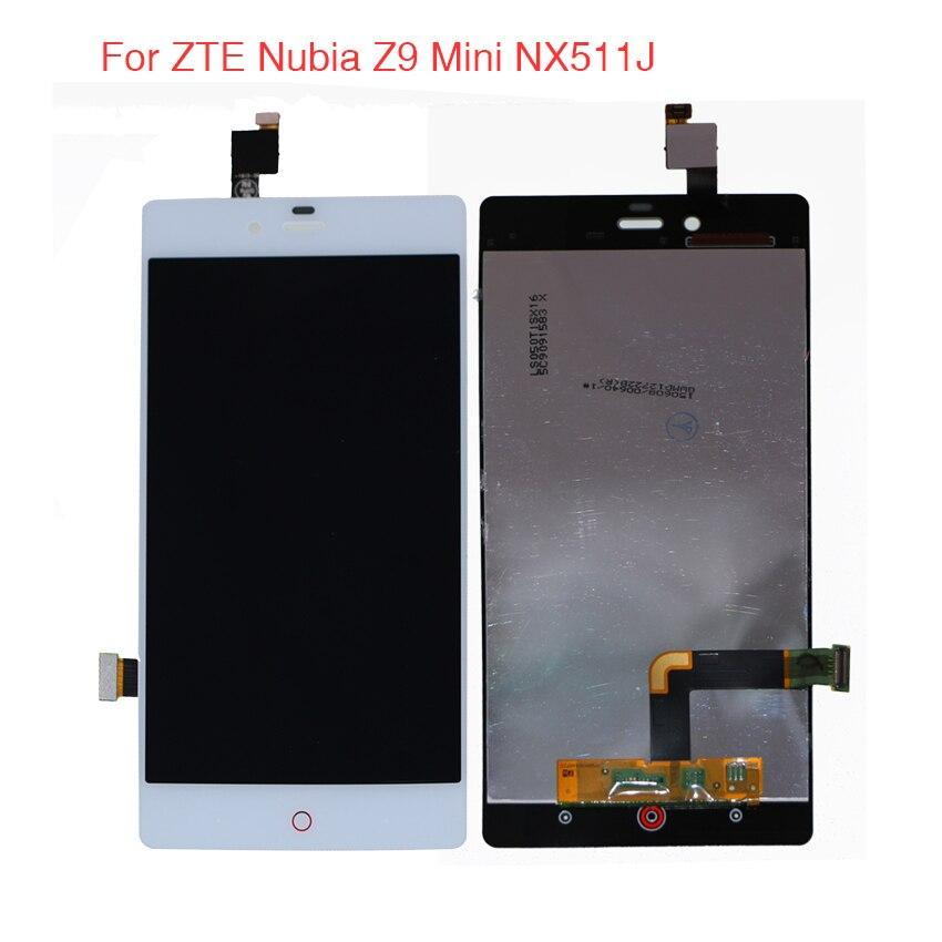 De alta Qualidade Para ZTE Nubia Z9 Mini NX511J Display LCD Assembléia Tela de Toque Com Ferramentas Gratuitas