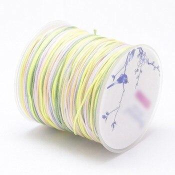 786a1bed9c18 1mm hilos de Nylon Cable de cuerda Material para collar de la joyería  pulsera DIY de 1 16