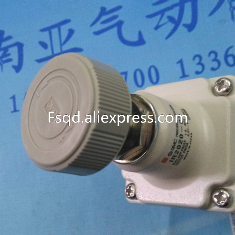 IR2020-02BG SMC Precision pressure-regulating valve pressure regulator pneumatic component aw30 02e smc pressure regulating filter with bracket pneumatic air source