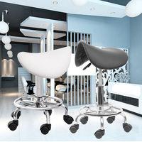 (Ship from EU) Hydraulic Saddle Salon Stool Massage Chair Tattoo Facial Spa Office